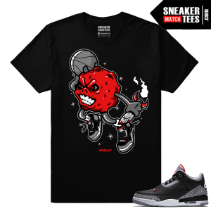 Jordan 3 Black Cement Sneaker tees Mars Dunk