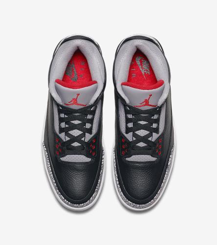 Jordan 3 Black Cement _4