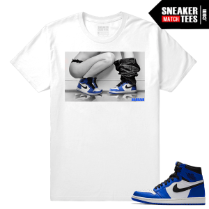 Jordan 1 Game Royal Sneaker Match Tees Sneakerhead Game Royals