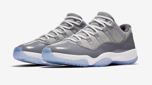 Air Jordan 11 Low Cool Grey _1