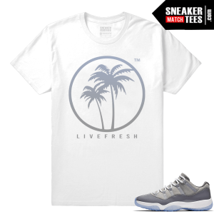 Live Fresh Palm Logo Cool Grey 11