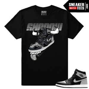 Air Jordan Shadow 1 Sneaker shirts Match