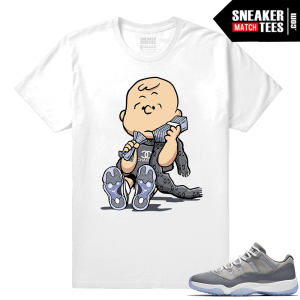 Air Jordan XI Cool Grey shirt