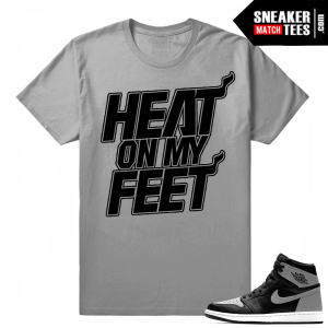 Air Jordan tees Shadow 1s