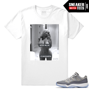 Cool Grey 11 Sneaker Match Tee