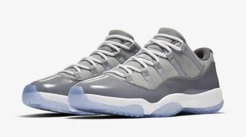 Cool Grey Jordan Retro 11 Low