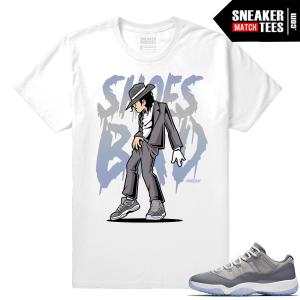 Cool Grey Shirt Jordan 11 Shoes