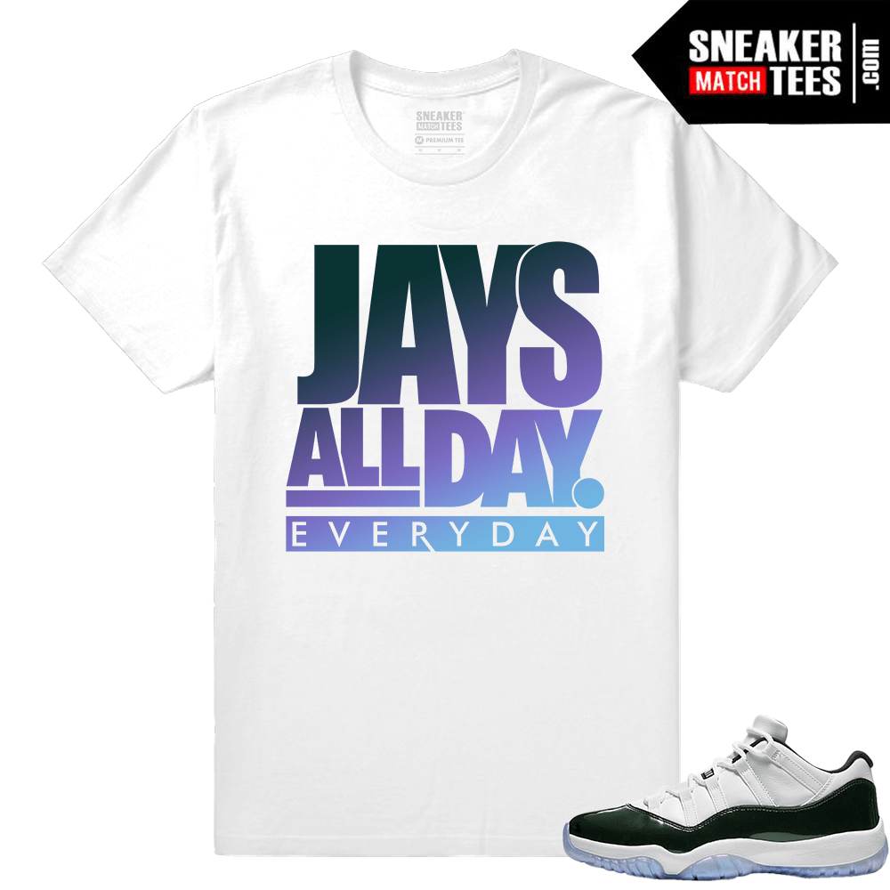 0928f9f966d6 Match Air Jordan 13 DMP All Praise White T shirt