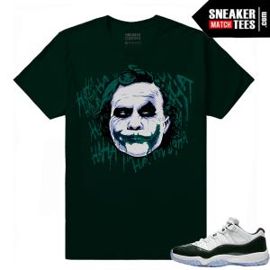 Emerald 11 Low Jordan Retro Matching Sneaker tee