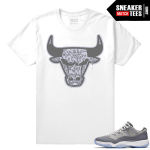 New Jordan 11 Cool Grey Shirt outfit
