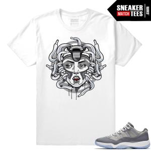 Shirt match Cool Grey 11