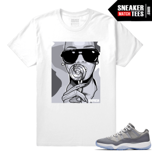 Shirt to match Cool Grey 11 low