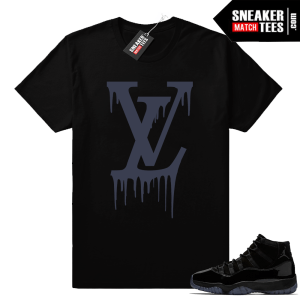 Air Jordan 11 sneaker shirts Cap and Gown