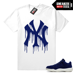 Jordan 11 Low Jeter matching shirt