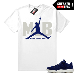 Jordan 11 Low Jeter sneaker tees shirt