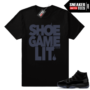 Shoe Game Lit Jordan 11 Shirt