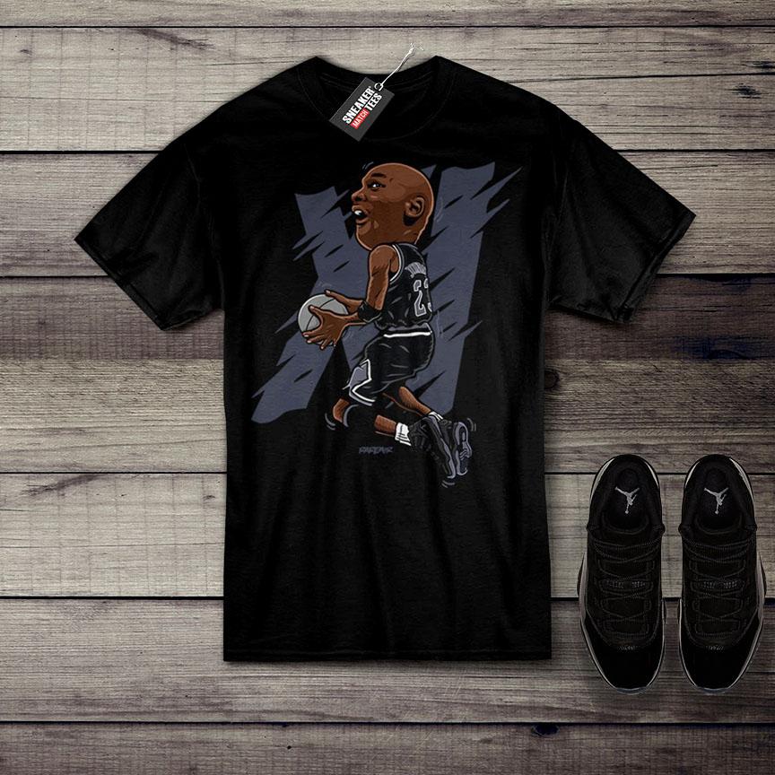 Jordan 11 Cap And Gown Shirt Releases Air Jordan 11 Clothing