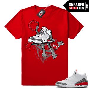 Katrina 3s sneaker shirt
