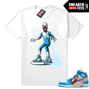 Frozone Off white Jordan 1 shirt