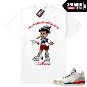 Jordan 3 Shirt Charity Game