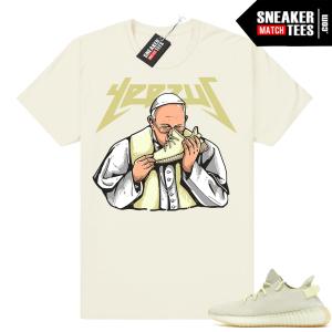 Yeezy Butter Yeezus Pope Shirt