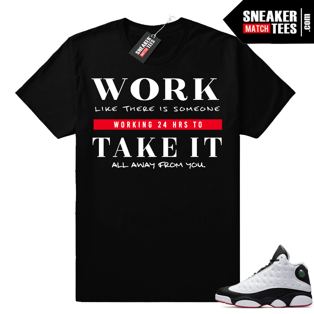 Air Jordan 13 shirts to match