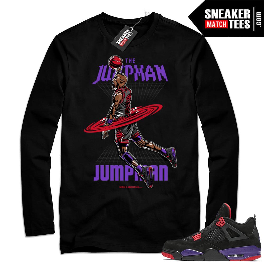 Jordan Retro 4 Long Sleeve tee shirt