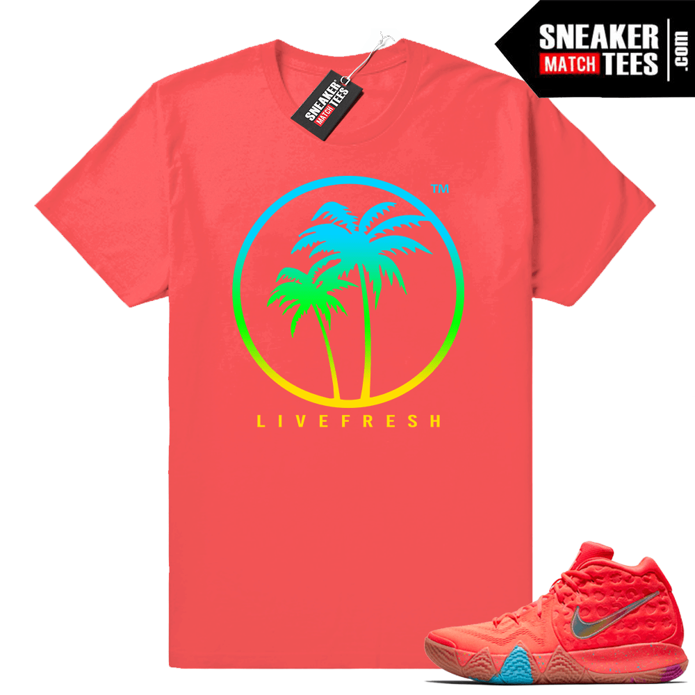 Kyrie 4 Lucky Charms Cereal Pack tees