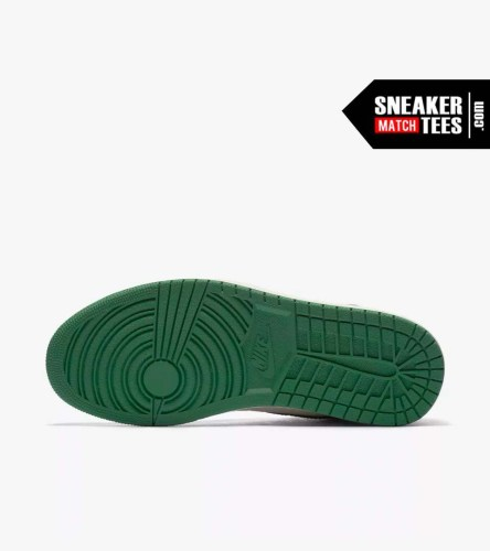 Jordan 1 Pine Green Shirts match sneakers (4)