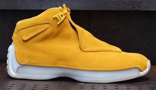 Jordan Release Jordan 18 Yellow Suede
