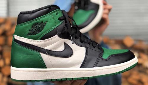 Jordan Release Pine Green 1s