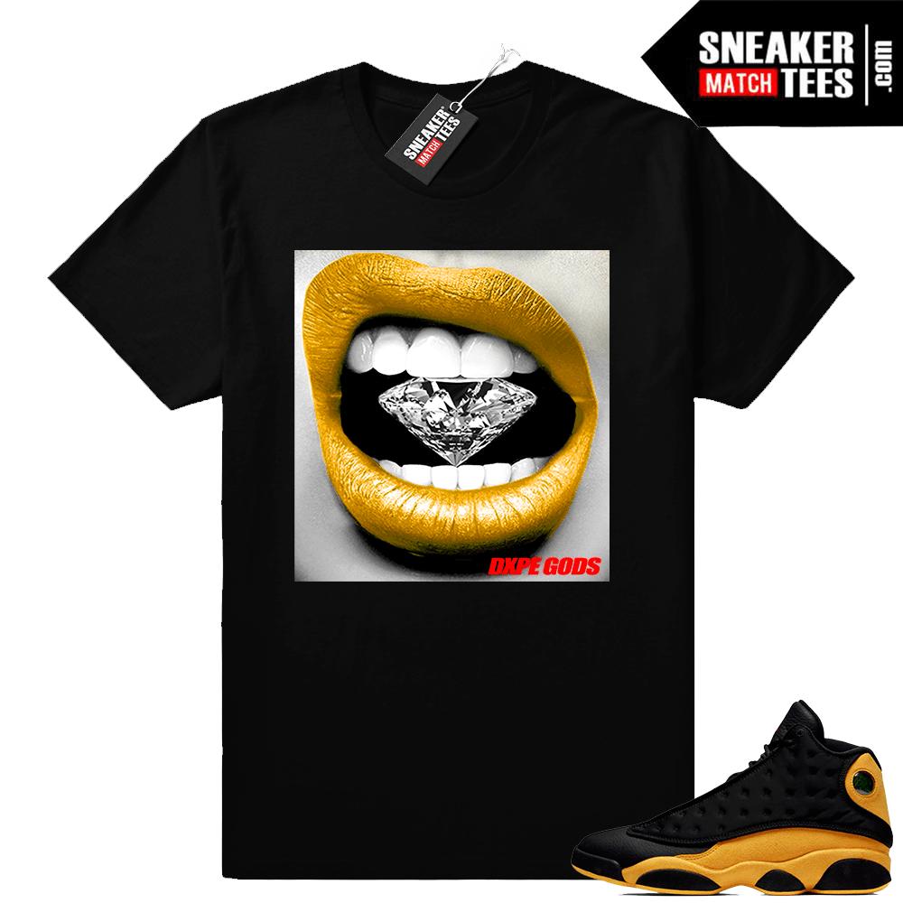 Retro 13 Jordan shirt match Melo 13s