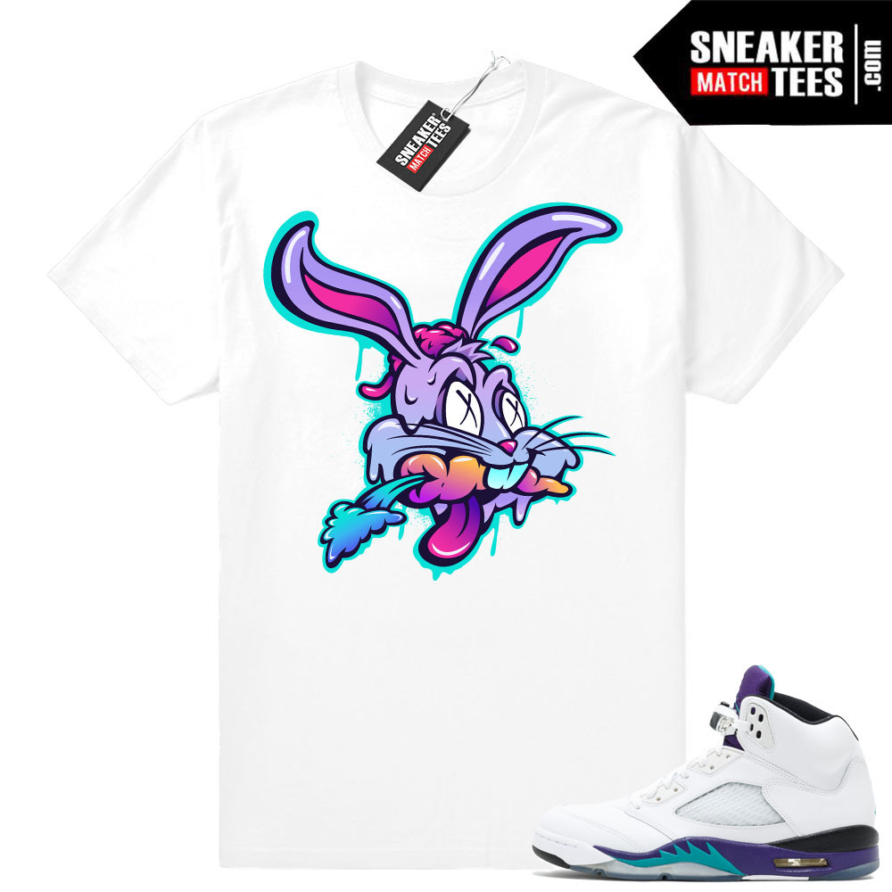Shirts Match Grape 5s Jordans