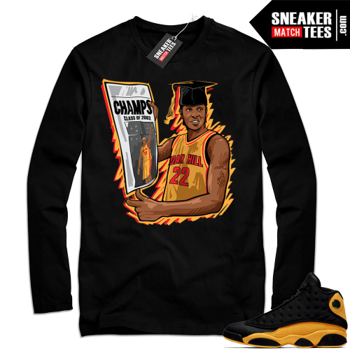 Jordan Long Sleeve Shirt Melo 13