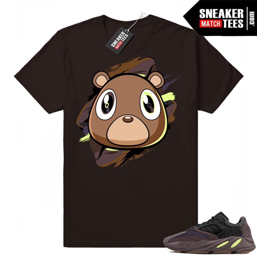 Yeezy 700 Mauve Bear t-shirt