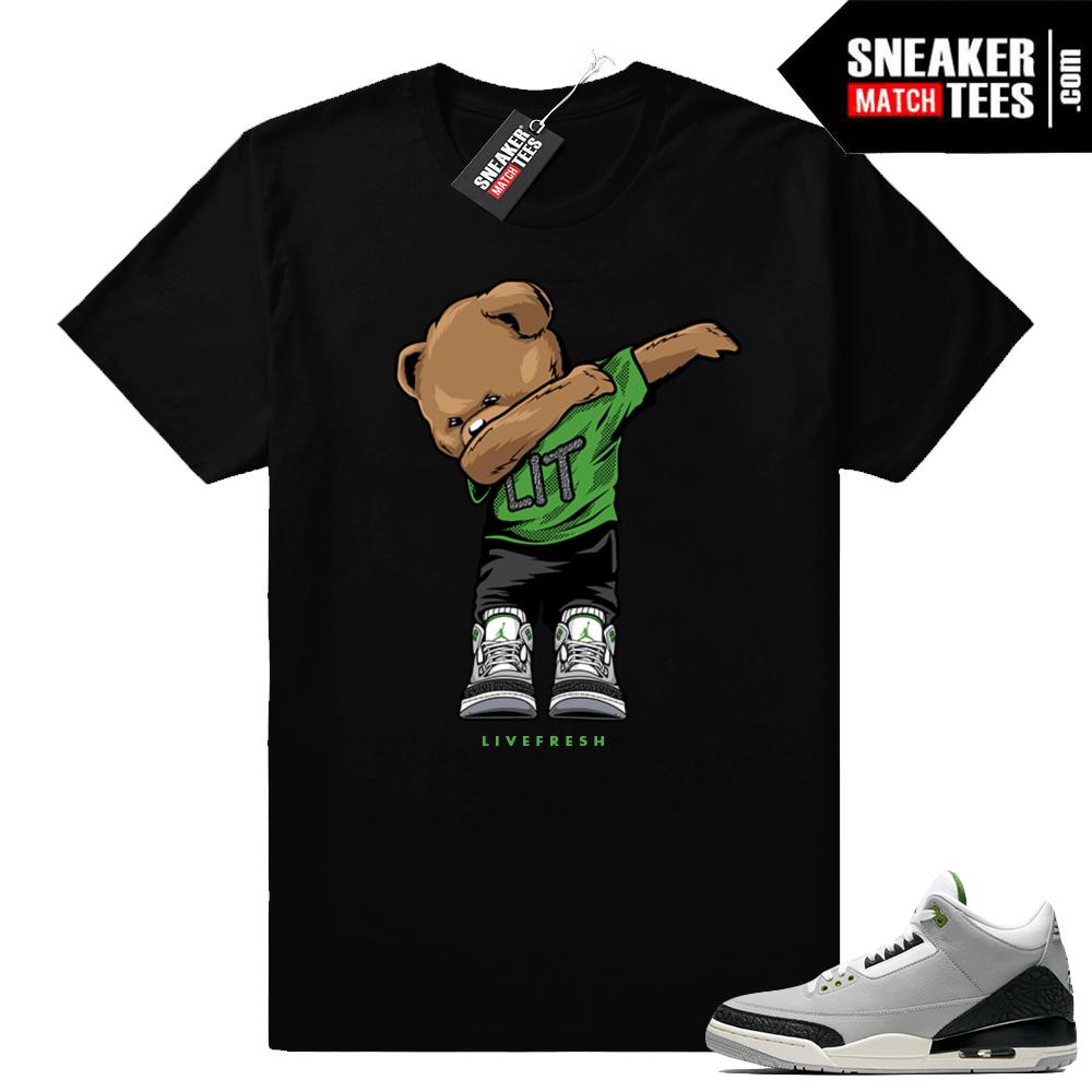 Air Jordan 3 shirt Chlorophyll