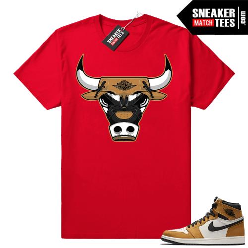 Jordan 1 Rookie of the Year matching shirt