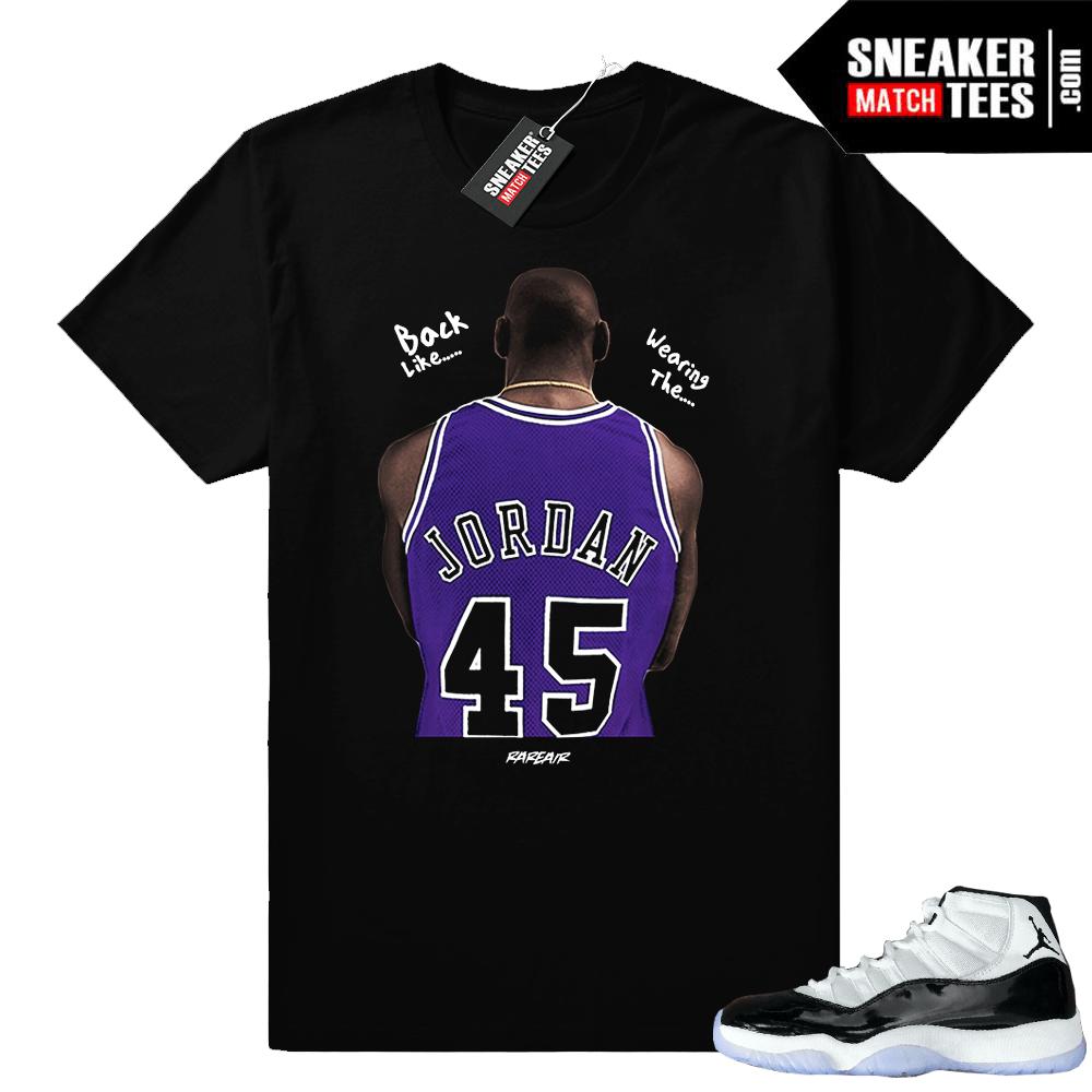 Jordan 11 Concord T Shirt Jordan 45 Jordan Shirts And Apparel