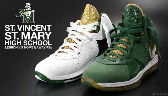 Nike LeBron 8 V/1 - SVSM PEs
