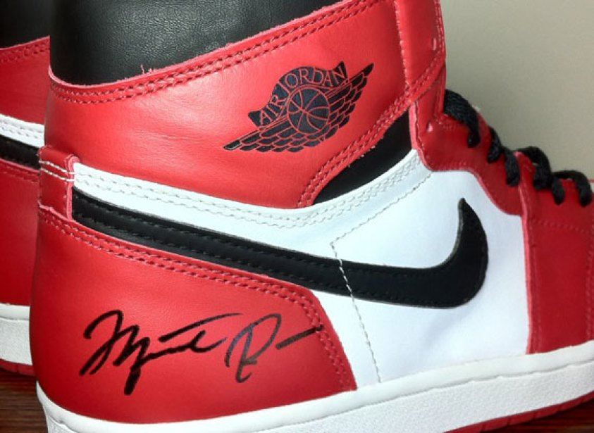very expensive sneakers shoes by Michael Jordan