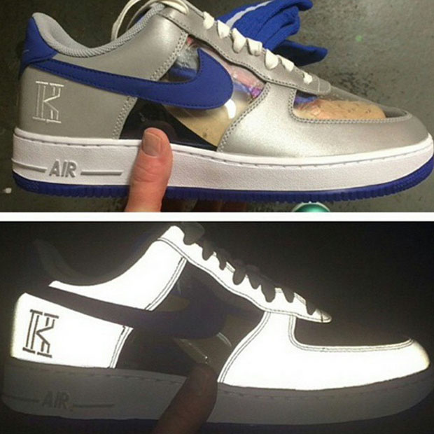 Kyrie Irving X Nike Air Force 1 Low QS Duke Blue Devils