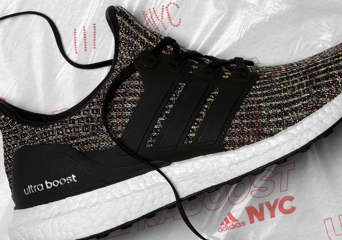 Adidas Ultra Boost 40 Black Multicolor Nyc Bodegas | Unixpaint