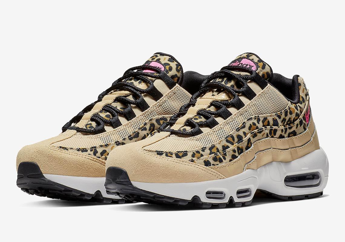Nike Air Max 95 Leopard Print Womens Cd 200