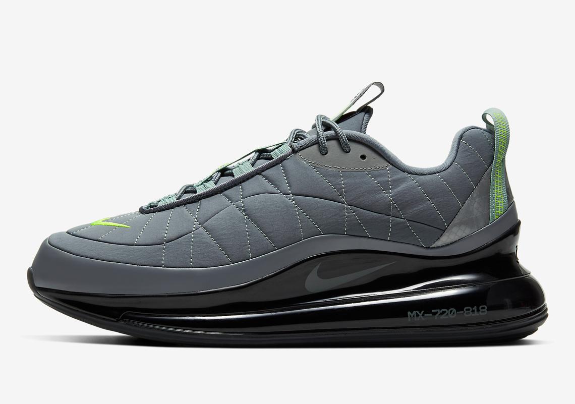 Nike Air Max 720 818 Neon Grey CW7475 001 Crumpe