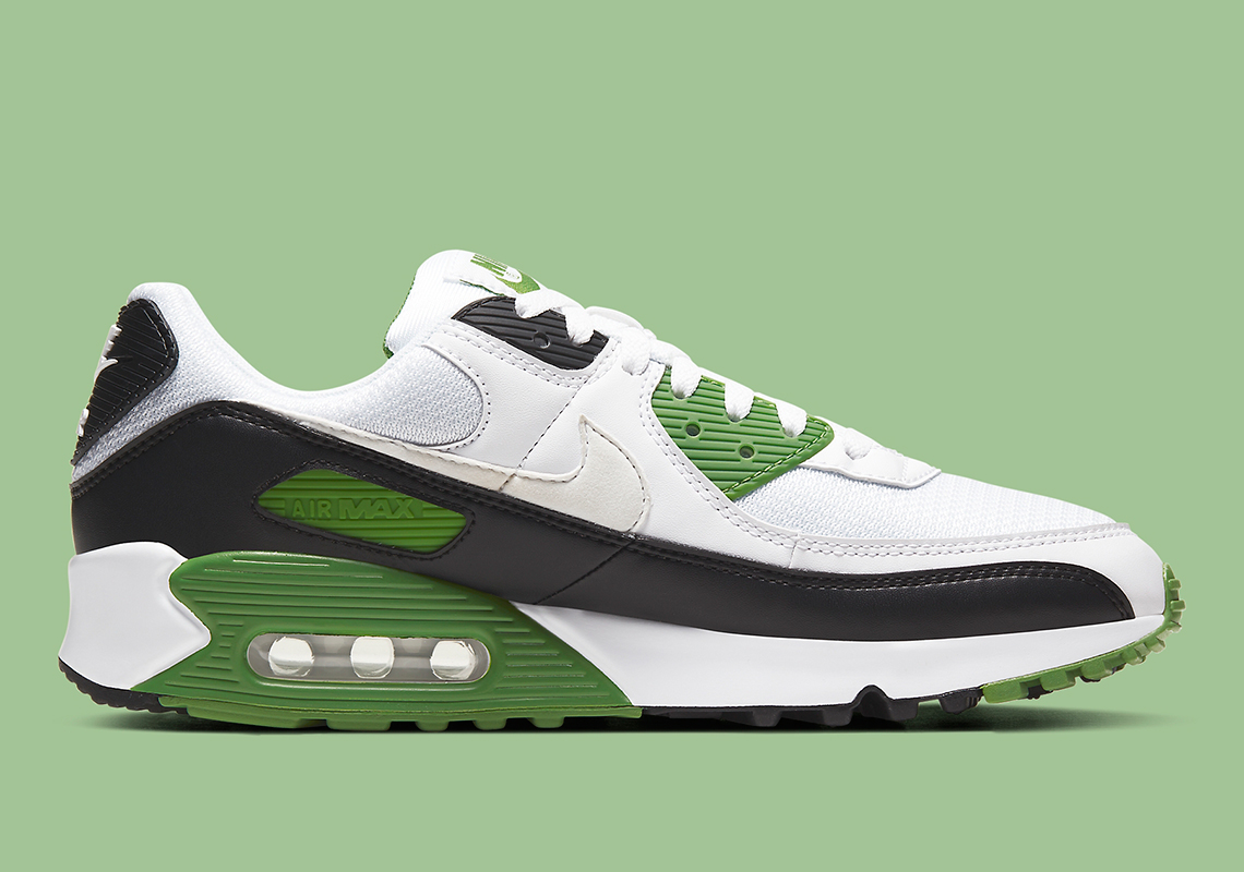 Informations sur la Nike Air Max 90 Chlorophyll CT4352-102 - Crumpe