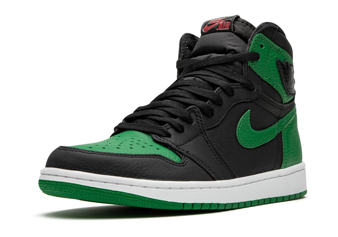 Air Jordan 1 High Pine Green 555088 030 Crumpe
