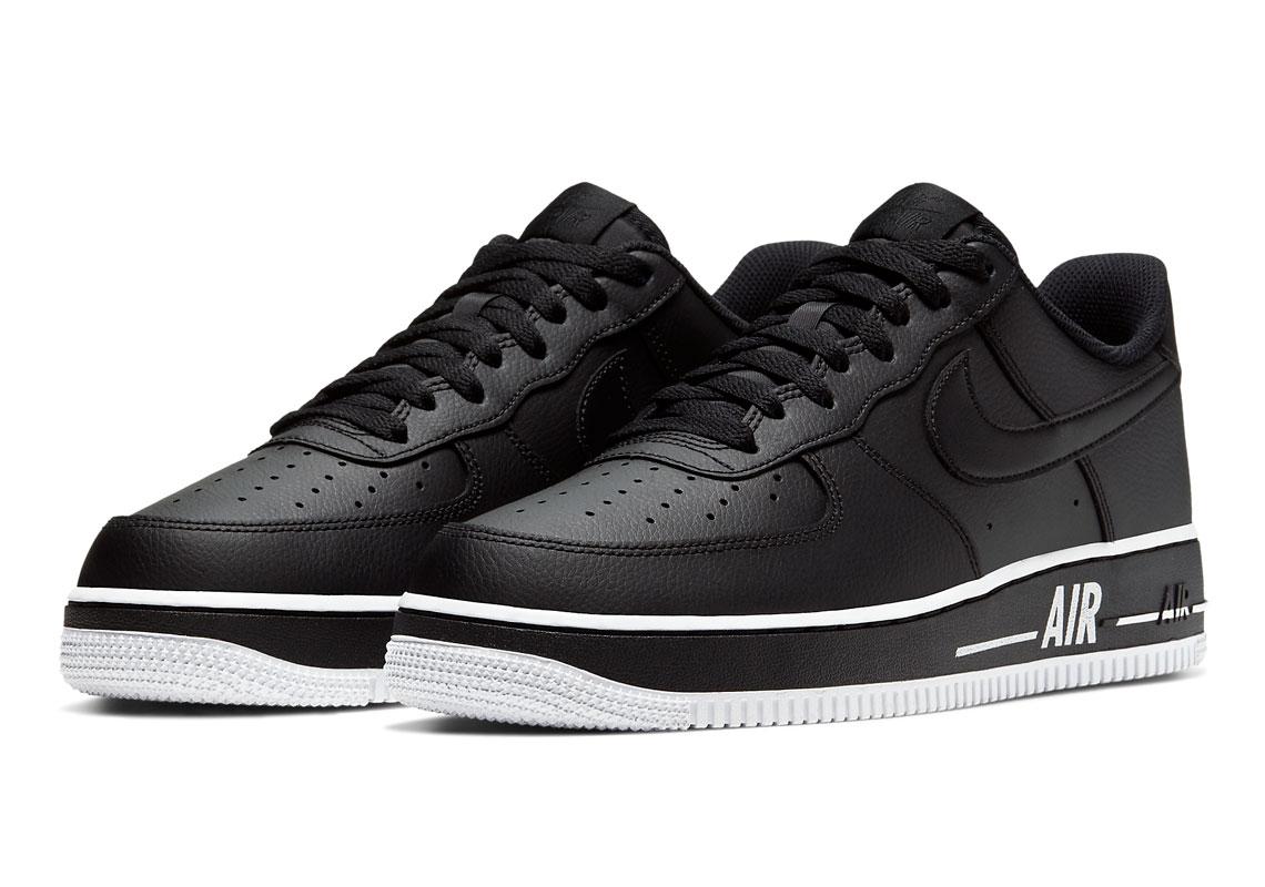 Nike Air Force 1 High Noir Blanche CU4736 100 Crumpe