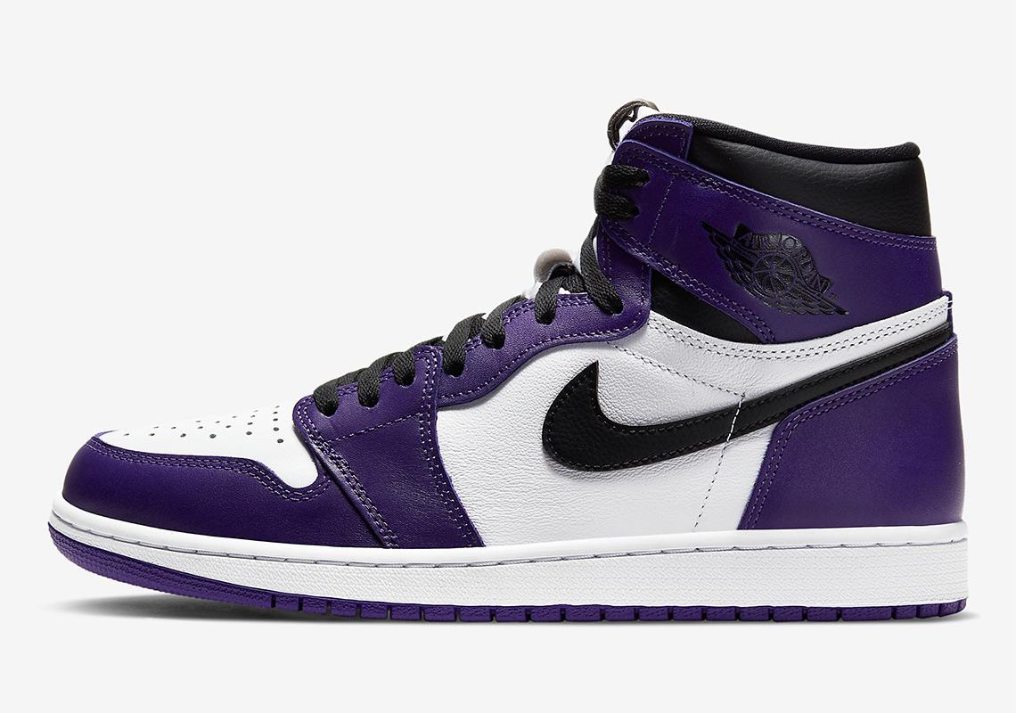 Informations sur la sortie de la Air Jordan 1 High Court Purple ...