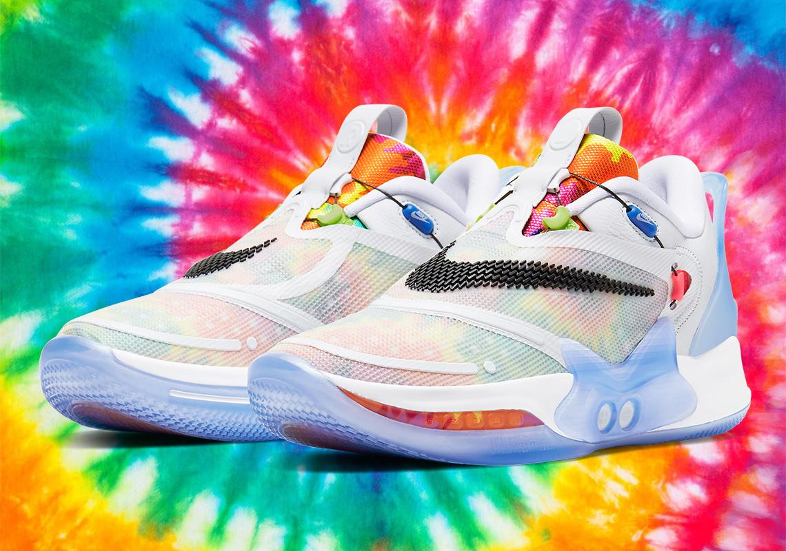 Nike Adapt BB 2.0 Tie Dye BQ5397 100 Crumpe