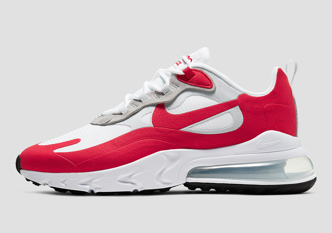 air max 270 react rouge et blanc